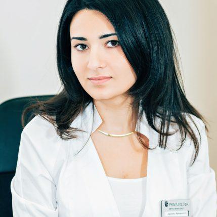 Даллари Аревика Аркадьевна